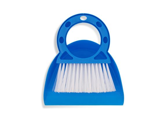 PRIMA Compact Dustpan & Brush Set - Blue product image