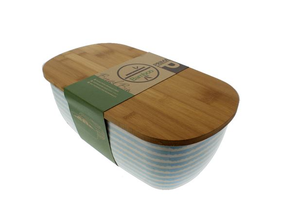 Bamboo Bread Bin - Blue Sky product image