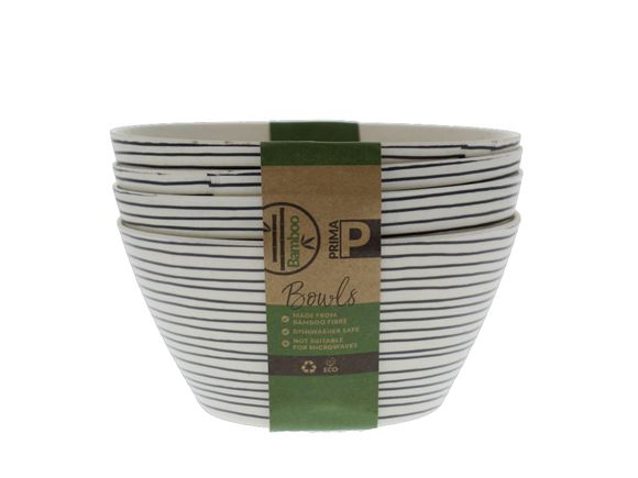 Bamboo Bowl Set - Linear product image