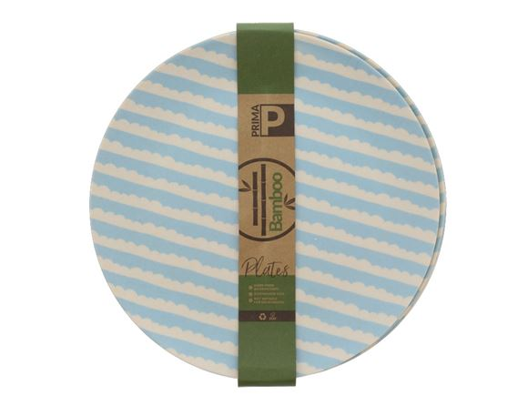 Bamboo Small Plate Set - Blue Sky product image