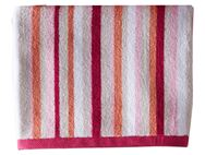Christy Monaco Stripe Bath Sheet Berry