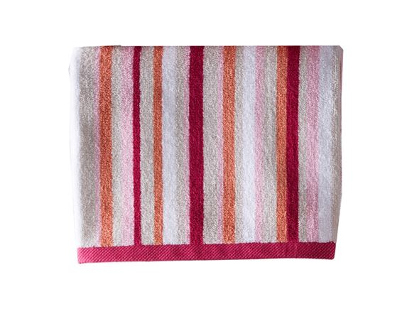 Christy Monaco Stripe Bath Towel Berry product image