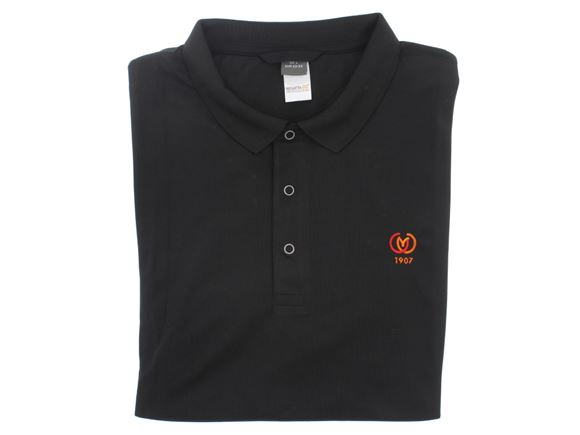CAMC Regatta Stud Coolweave Polo Shirt - Black product image