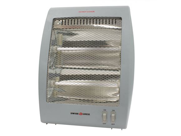 Swiss Luxx 400/800W Quartz Portable Caravan Heater product image