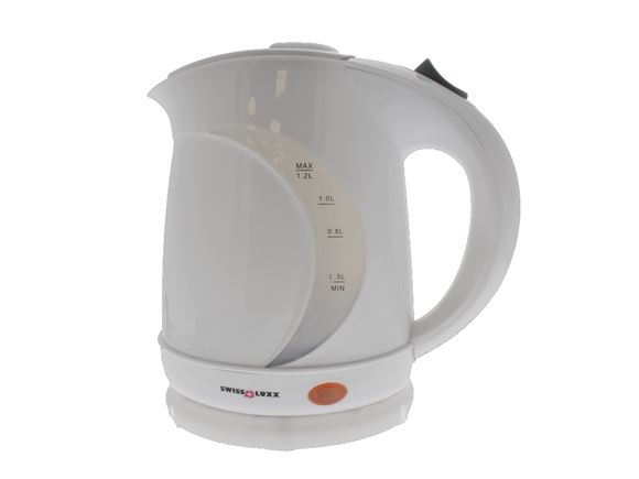 Read more about Swiss Luxx 1.2Ltr Low Wattage Kettle - White product image