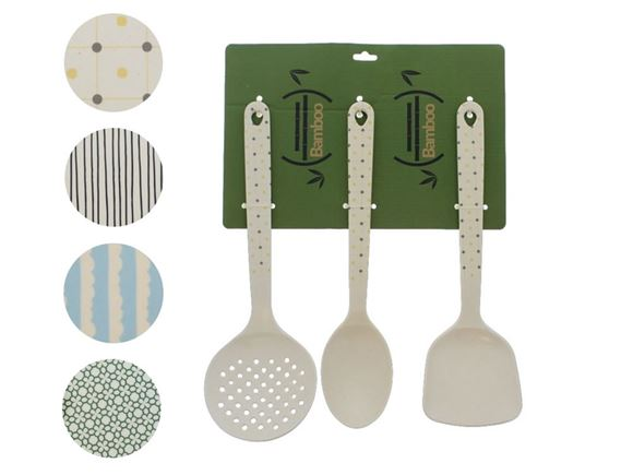 PRIMA Bamboo Cooking Utensil Set product image