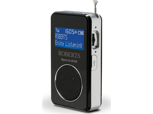 Roberts Sports DAB 6 Digital Radio & Loudspeaker  product image