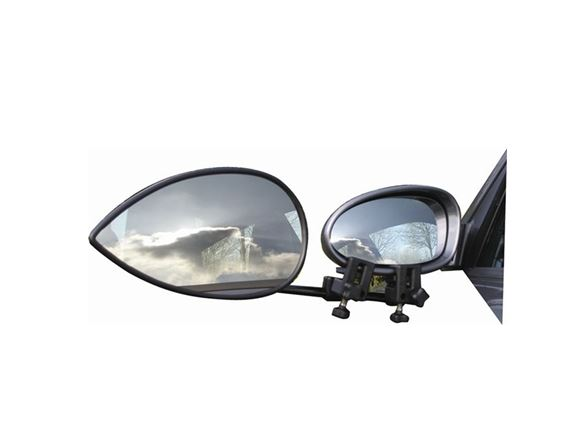 Milenco Aero 3 Towing Mirrors - Flat product image