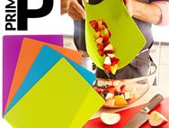 PRIMA Set of 4 Flexible Plastic Chopping Mats