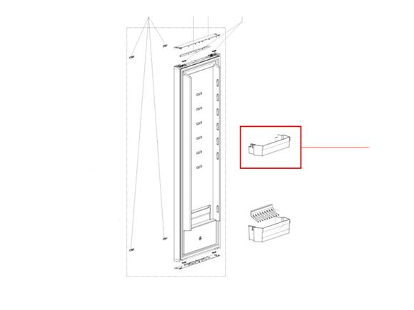 Dometic RML943X Fridge Door Shelf product image