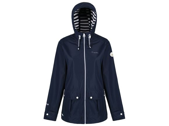 Regatta Bayeur II Womens Waterproof Jacket Navy 12 product image