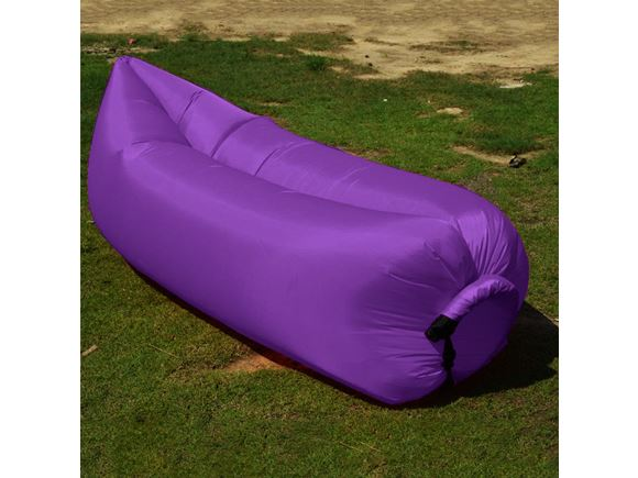 PRIMA Inflatable Lazy Lounger, Purple product image