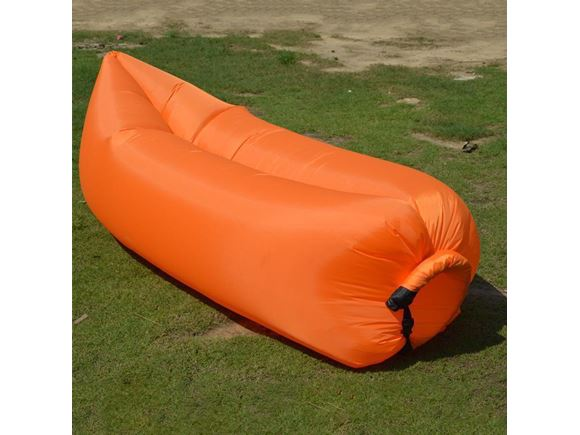 PRIMA Inflatable Lazy Lounger, Orange product image