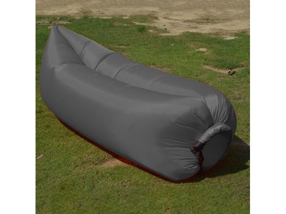 PRIMA Inflatable Lazy Lounger, Grey product image
