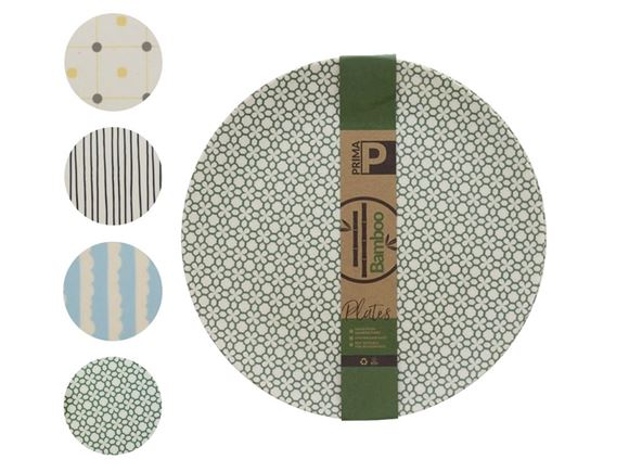 PRIMA Bamboo Small Plate Set product image
