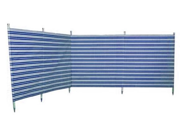 Windbreak 5 pole Navy Stripe 3.6m product image