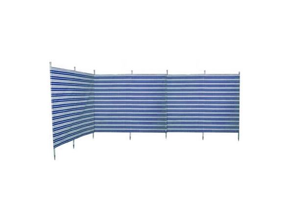 Windbreak 7 Pole Navy Stripe 5.4m product image