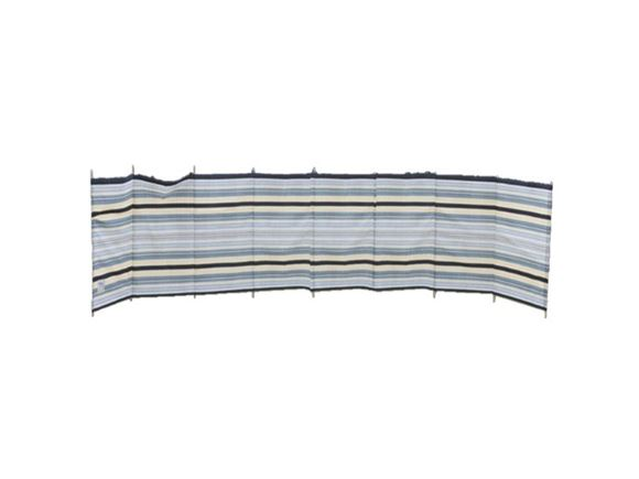 Windbreak 9 Pole Sand/Grey Contemporary Stripe product image