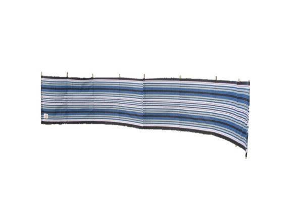 Windbreak 9 Pole Navy/Burgundy Contemporary Stripe product image