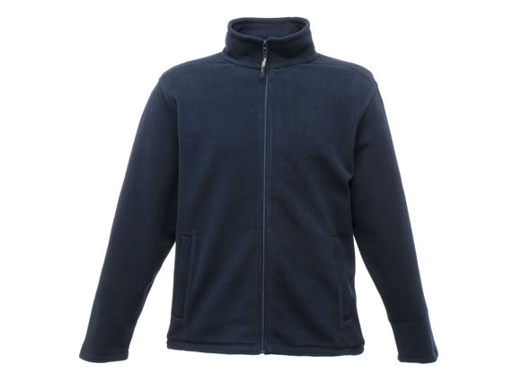 Regatta Mens Full Zip Fleece Jacket Navy 4XL product image