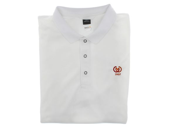 CAMC Regatta Stud Coolweave Polo Shirt - White product image